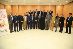 بازدید ریاست دانشگاه علوم پزشكي اصفهان از مرکز پزشکی تخصصی خیریه حضرت ابوالفضل (ع)