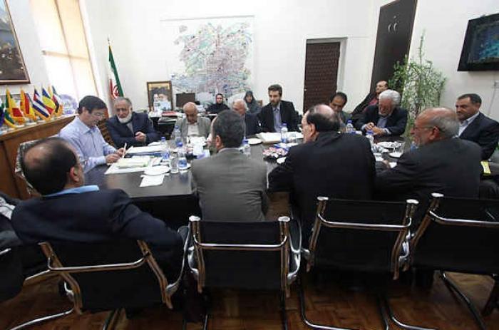دیدار هیئت مدیره مؤسسه خیریه دیابت با شهردار